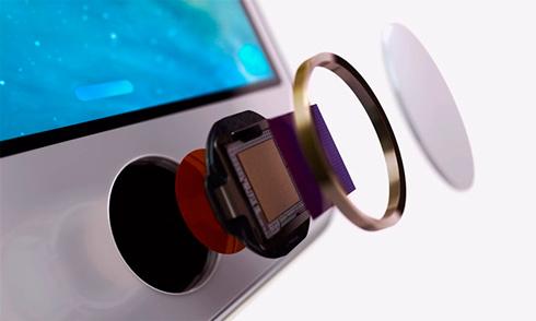 Сканер отпечатка пальца Touch ID