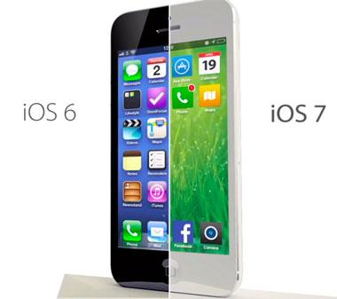 Концепт iOS7