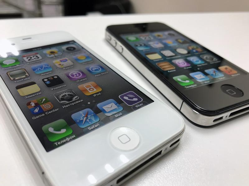 iPhone 4S на системе iOS 6.1.3