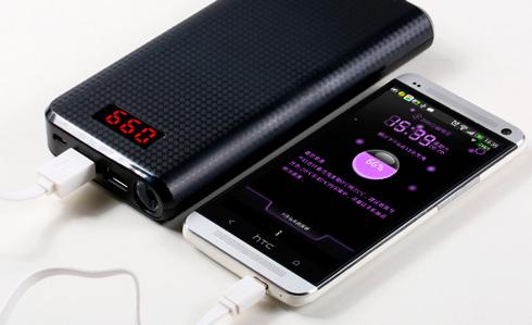 Портативное зарядное устройство (Power Bank)  для iPhone и Android