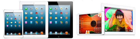 Ремонт iPad Air, mini Retina, mini, 4, 3, 2 в Екатеринбурге
