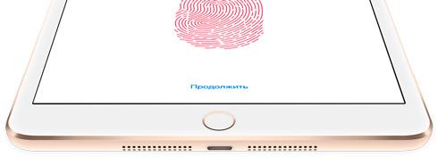 Ремонт iPad mini 3 с технологией Touch ID в Екатеринбурге