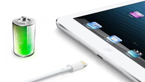 Быстро разряжается аккумуляторная батарея iPad