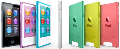 Самый новый iPod nano