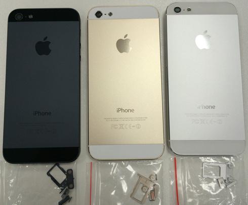 Замена корпуса iPhone 5 в Черный, Золотой, Белый