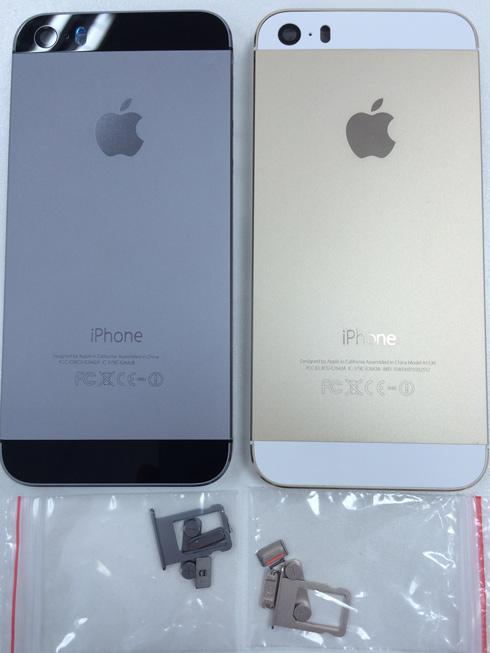Замена корпуса iPhone 5S в Черный, Золотой