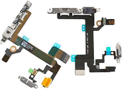 Замена кнопки включения, громкости и вибро iPhone 5S