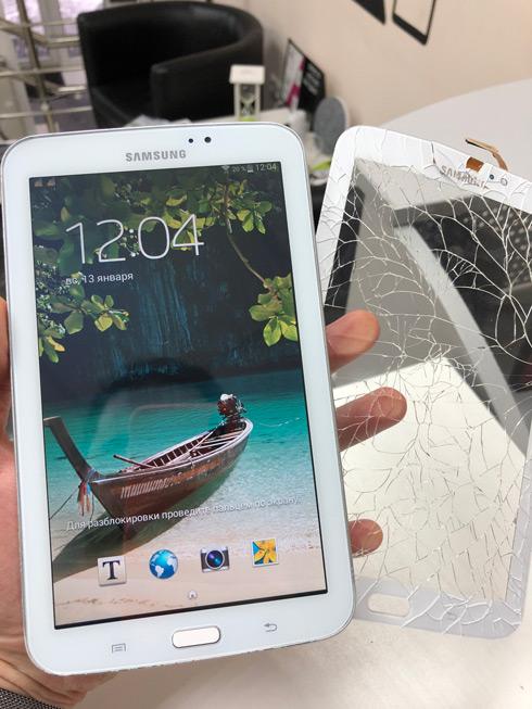 Замена стекла Samsung Tab 3 7.0