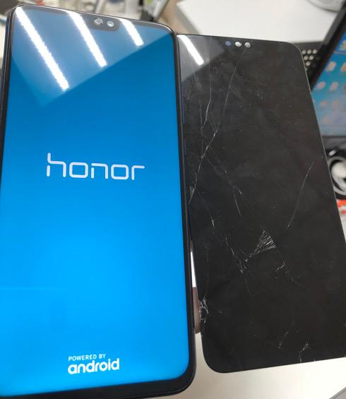 Замена стекла Honor 8X