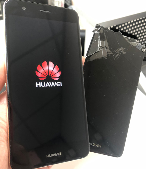Замена стекла Huawei Nova