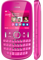 Nokia Asha 200 Две сим-карты