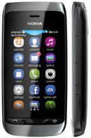 Nokia Asha 308. Две сим-карты