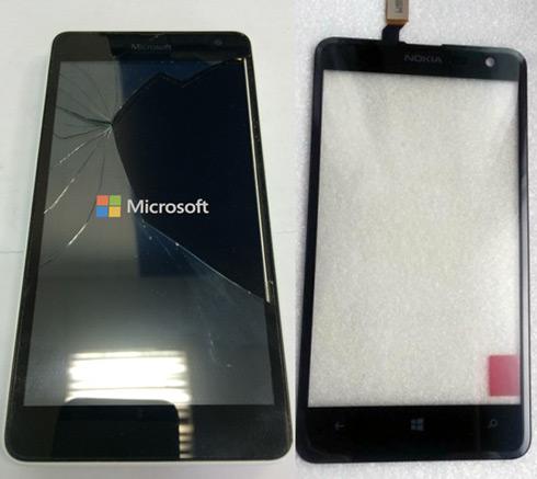 Сенсорное стекло Microsoft Nokia Lumia 625 3G