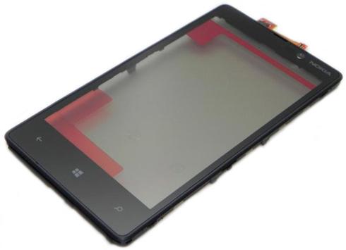 Сенсорное стекло Nokia Lumia 820