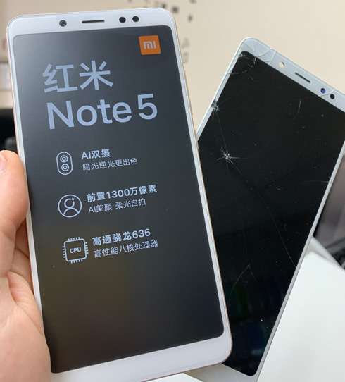 Замена дисплея на Xiaomi Redmi Note 5