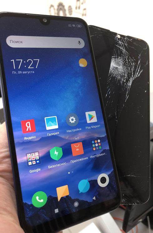 Замена стекла Xiaomi Redmi 7
