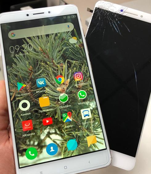 Замена стекла Xiaomi Mi Max